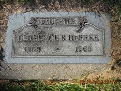 Florence Belle <I>Clarke</I> De Pree