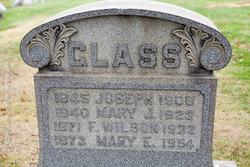 Mary Johnson <I>Wilson</I> Glass