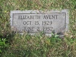 Elizabeth <I>Bowman</I> Avent