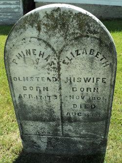 Elizabeth <I>Hunter</I> Olmstead
