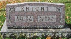 Alma A. <I>VanWormer</I> Knight