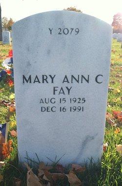 Mary Ann C Fay