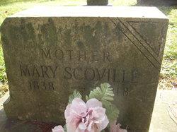 Mary <I>Dickerhoof</I> Scoville