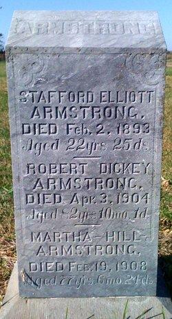 Martha <I>Hill</I> Armstrong