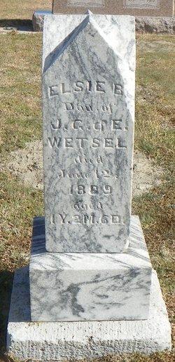 Elsie B Wetsel