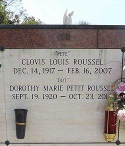 """Clovis Louis """"Pete"""" Roussel"""