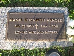 Mamie Elizabeth <I>Cadle</I> Arnold