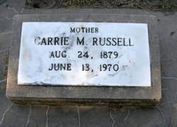 Carrie Minnie <I>Sassen</I> Russell