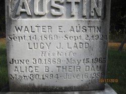Lucy J. <I>Ladd</I> Austin