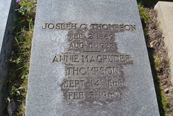 Joseph Oswalt Thompson