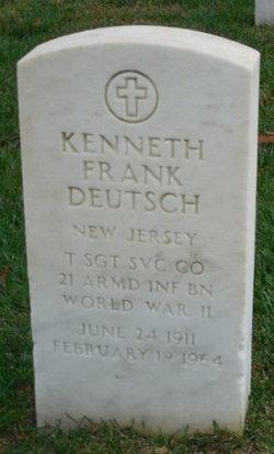 Kenneth Frank Deutsch