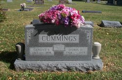Gladys Ellen <I>Fitzwater</I> Cummings