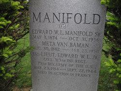 Edward W.L. Manifold, Sr.