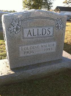 Loudene <I>Walker</I> Allds