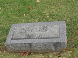 Julia <I>Bradley</I> Holloman
