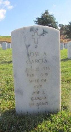 Rose A Garcia