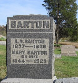 """Andrew Grate """"A. G."""" Barton"""