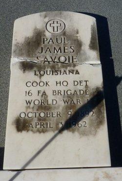 """Paul James """"Jimmy"""" Savoie, Sr"""