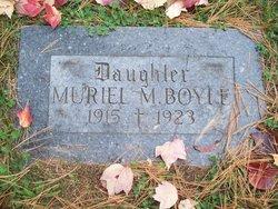 Muriel Margaret Boyle