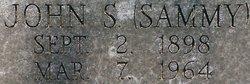 """John Samuel """"Sammy"""" Ganzhorn"""