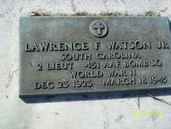 2LT Lawrence Fred Watson Jr.