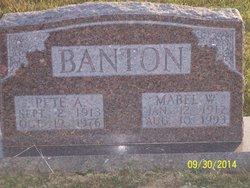 "Amos Zelma ""Pete"" Banton"