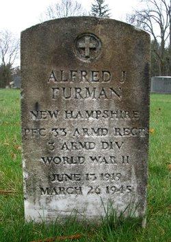 PFC Alfred J Furman