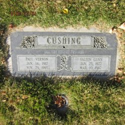 Paul Vernon Cushing, Jr
