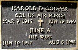 June A Cooper