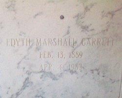 Edyth <I>Marshall</I> Garrett