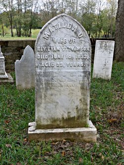 Matilda Owings <I>Evans</I> Stevenson