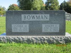 Esther Margaret <I>Woolard</I> Bowman