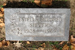 Estella Mildred <I>Hoots</I> Sievert