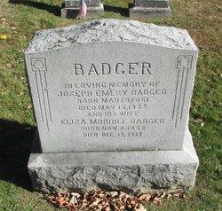 Eliza <I>Morrill</I> Badger