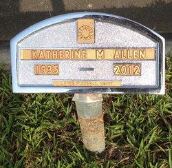 Katherine Montene <I>White</I> Allen