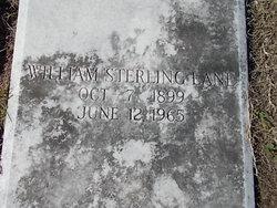 William Sterling Lane, Sr