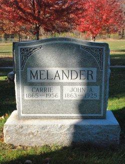 John A Melander 1863 1925