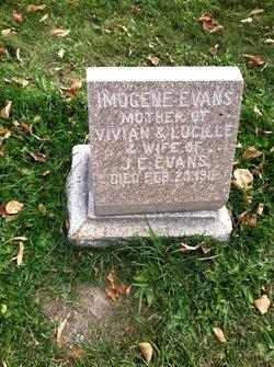 Imogene E <I>Henrickson</I> Evans