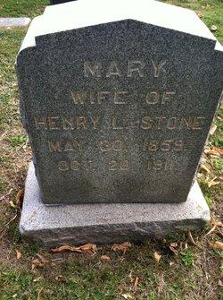 Mary J <I>Curtis</I> Stone