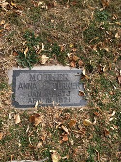 Anna Beatrice <I>Holmes</I> Turner