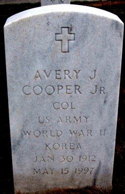 Col Avery John Cooper, Jr