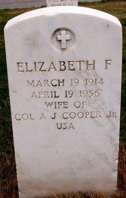 Elizabeth <I>Faber</I> Cooper