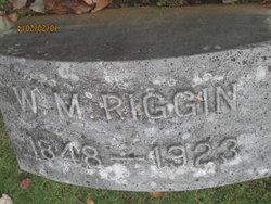W. M. Riggin