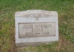 John Marquis Paden
