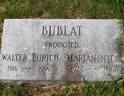 Marian E. <I>Nyce</I> Bublat