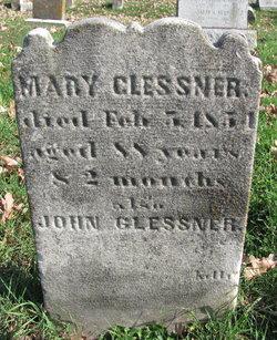 """Anna Maria """"Mary"""" <I>Waltemeyer</I> Glessner"""