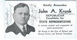John A. Kronk
