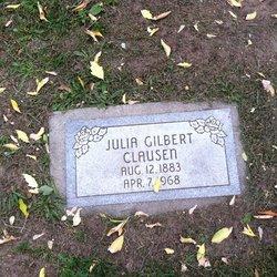 Julia A. <I>Gilbert</I> Clausen