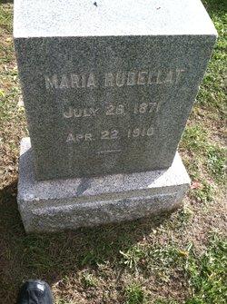 """Maria """"Mary"""" <I>Fiorese</I> Rudellat"""