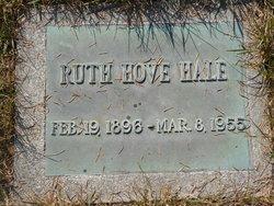 Ruth <I>Hove</I> Hale